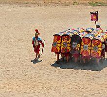 Roman reenactment, Jerash by bulljup