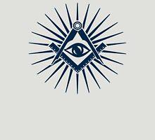 Masonic symbol, all seeing eye, freemasonry  Unisex T-Shirt