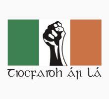 Irish Republican design in Gaeilge by Conink