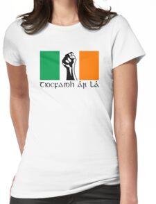 Irish Republican design in Gaeilge Womens Fitted T-Shirt