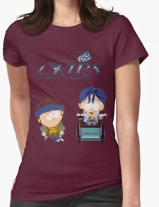 South Park|Jimmy|Timmy|Crips Womens Fitted T-Shirt