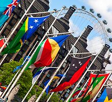 Flags In London by Adrian Alford Photography