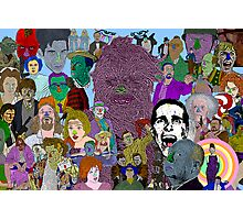 Movie Collage by Culture Cloth Zinc Collection Photographic Print