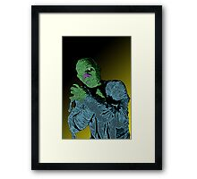 The Mummy Horror Movie by Culture Cloth Zinc Collection Framed Print