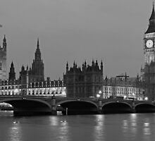 London Evening by Adrian Alford Photography