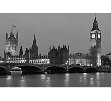 London Evening Photographic Print