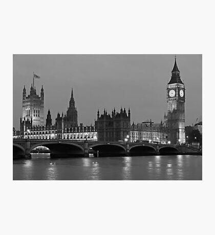 London Evening Photographic Print