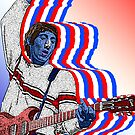 Pete Townsend The Who by Culture Cloth Zinc Collection by CultureCloth