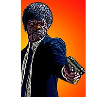 Pulp Fiction Samuel L. Jackson by Culture Cloth Zinc Collection Photographic Print