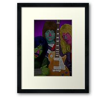 Spinal Tap by Culture Cloth Zinc Collection Framed Print
