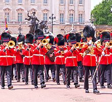 London Marching Band by Adrian Alford Photography