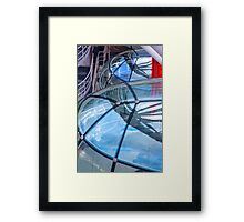 Eye Reflection Framed Print