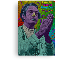 Timothy Leary by Culture Cloth Zinc Collection Canvas Print