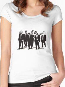 Reservoir Dinos Women's Fitted Scoop T-Shirt
