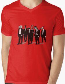 Reservoir Dinos Mens V-Neck T-Shirt