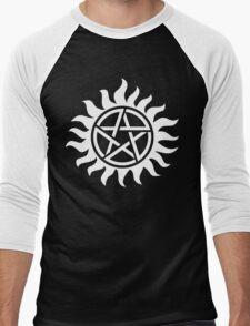 Supernatural Tattoo (white) Men's Baseball ¾ T-Shirt