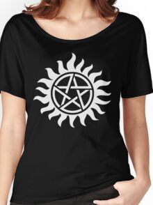 Supernatural Tattoo (white) Women's Relaxed Fit T-Shirt