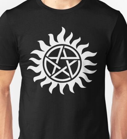 Supernatural Tattoo (white) Unisex T-Shirt