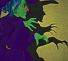 Wicked Witch of the West Wizard of Oz by Culture Cloth Zinc Collection by CultureCloth