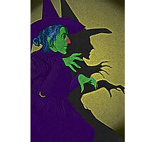 Wicked Witch of the West Wizard of Oz by Culture Cloth Zinc Collection Photographic Print