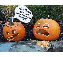 Pumpkin Eater Photographic Print