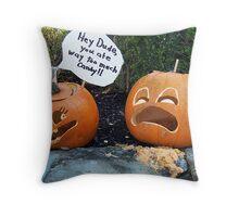 Pumpkin Eater Throw Pillow