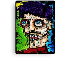 Self -Portrait as All That Is Wrong In The World Canvas Print