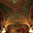Monroe Building Hallway by Adam Bykowski