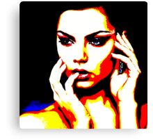 Face 27 Canvas Print