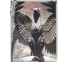 Dumbledore's Office - Griffin Statue - Harry Potter Studio Tour iPad Case/Skin
