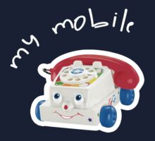 My Mobile - Chatter Phone One Piece - Short Sleeve