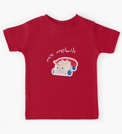 My Mobile - Chatter Phone Kids Tee