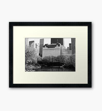 The Plaza Hotel, New York  Framed Print