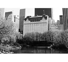 The Plaza Hotel, New York  Photographic Print