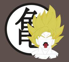 Goku Bust & Roshi Symbol  Kids Clothes