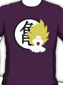 Goku Bust & Roshi Symbol  T-Shirt