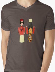 Little People Mens V-Neck T-Shirt
