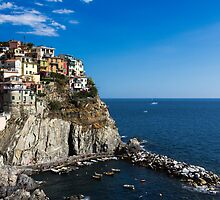 Manarola by Raffaello Terreni