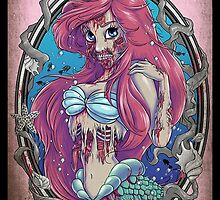 Alternative Disney - Ariel by NellyMushBean