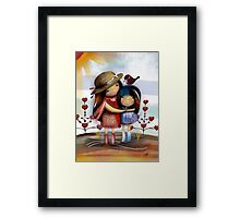 Love and Friendship Framed Print