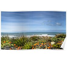 Garden by the sea Poster