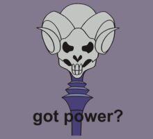 Got Power - Havoc Staff - Black Font - Color  by DGArt