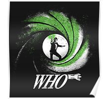 The Name's Who Poster
