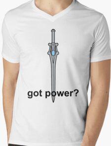 Got Power - She-Ra Sword - Black Font  Mens V-Neck T-Shirt