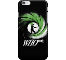 The Name's Who iPhone Case/Skin