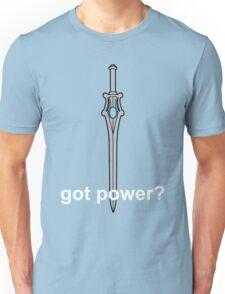 Got Power - She-Ra Sword - White Font  Unisex T-Shirt