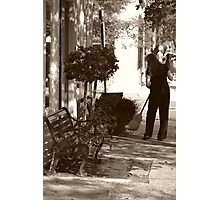 Early Morning Street Scene Photographic Print