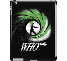 The Name's Who iPad Case/Skin