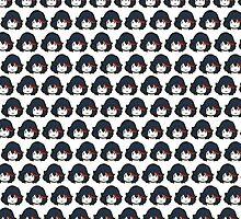 Kill La Kill - Chibi Ryuko Matoi by JarrodCarmichal