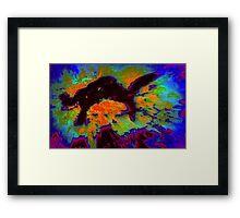 Smokey Strikes  Framed Print